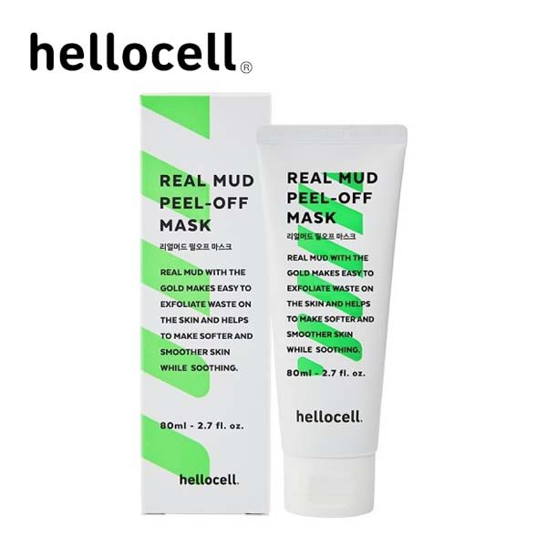 Hellocell Real Mud Peel-Off Mask