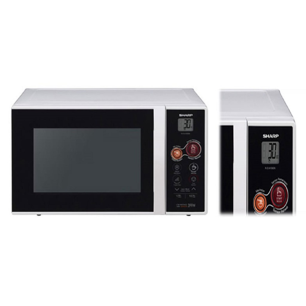 SHARP R-21A1W-IN Microwave Oven Touch Control 22L
