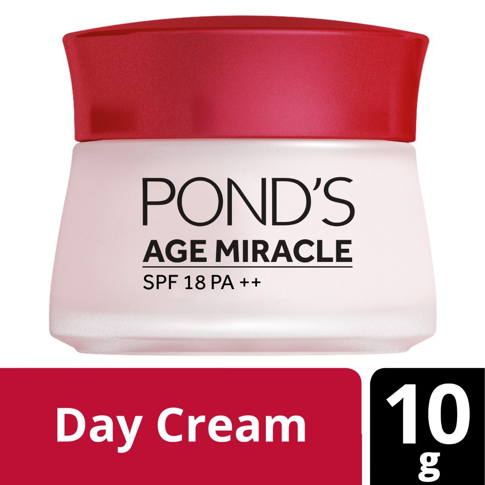 Ponds Age Miracle Anti Aging Day Cream 10g With 24 Hour Non Stop Anti Aging Technology