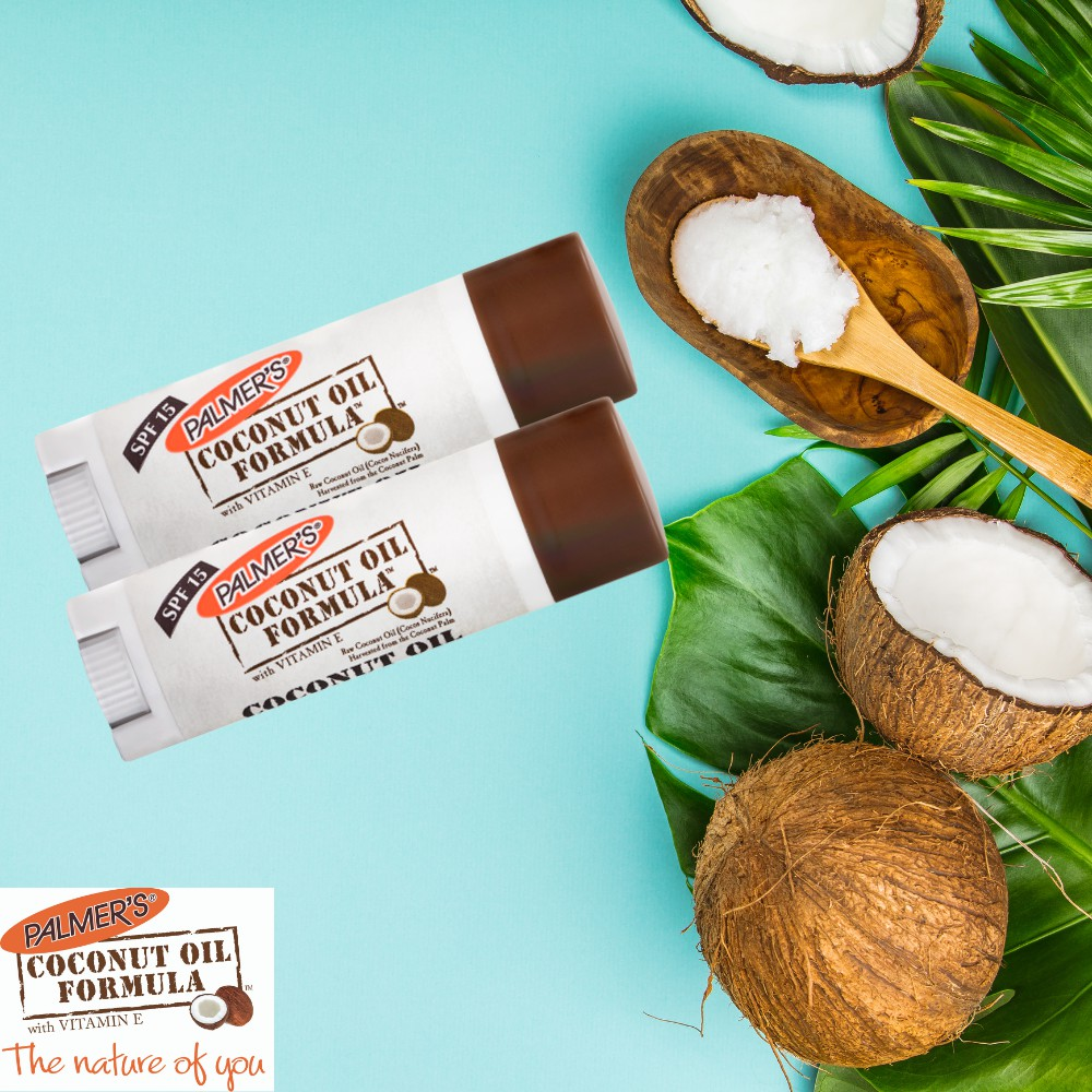 Palmer's Coconut Oil Lip Balm with SPF 15 4g BUNDLE OF 2