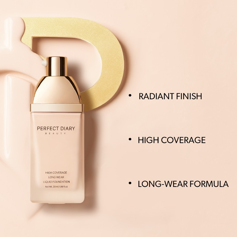 Perfect Diary High Coverage Long Wear Liquid Foundation