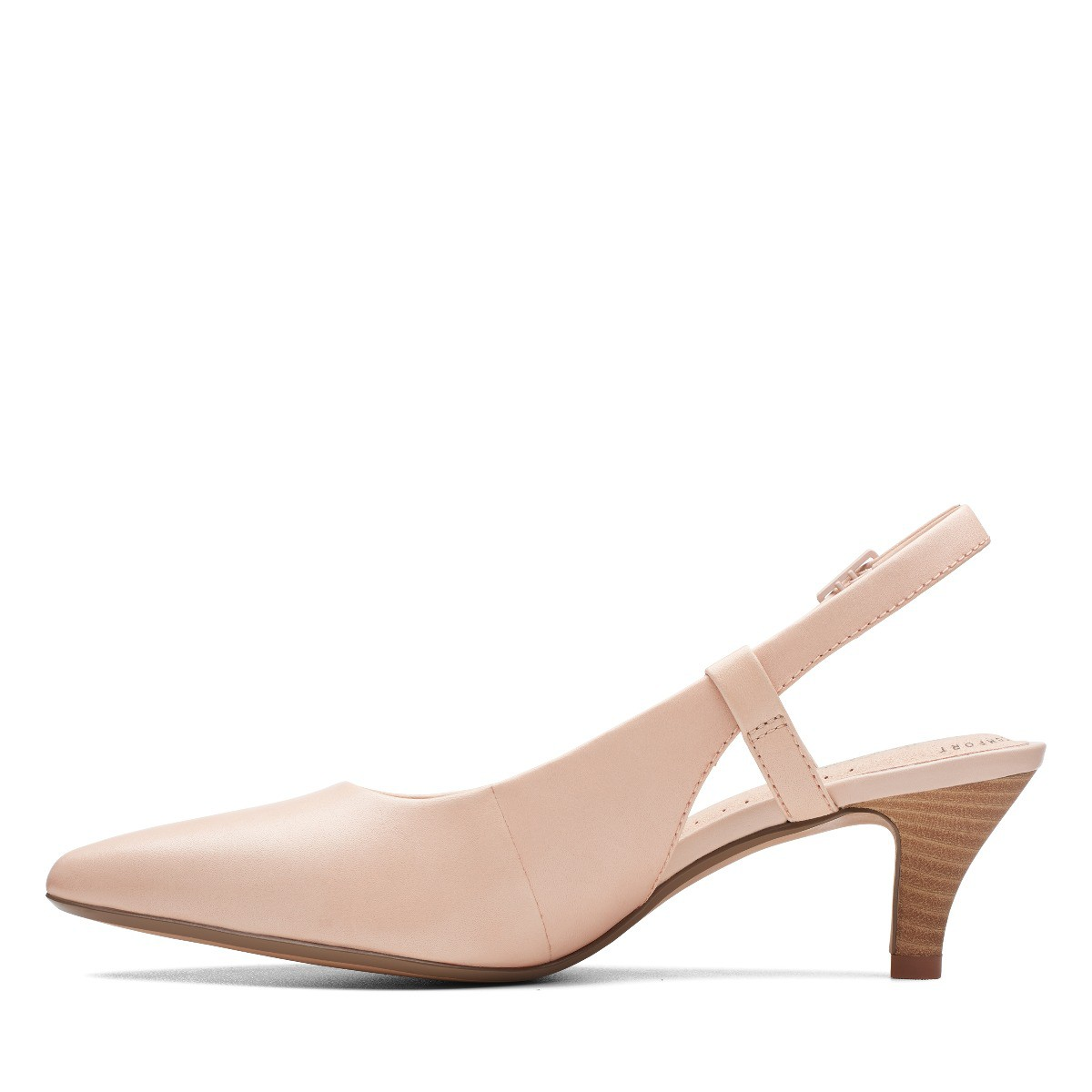 CLARKS Linvale Loop Blush Leather Womens Clarks Collection