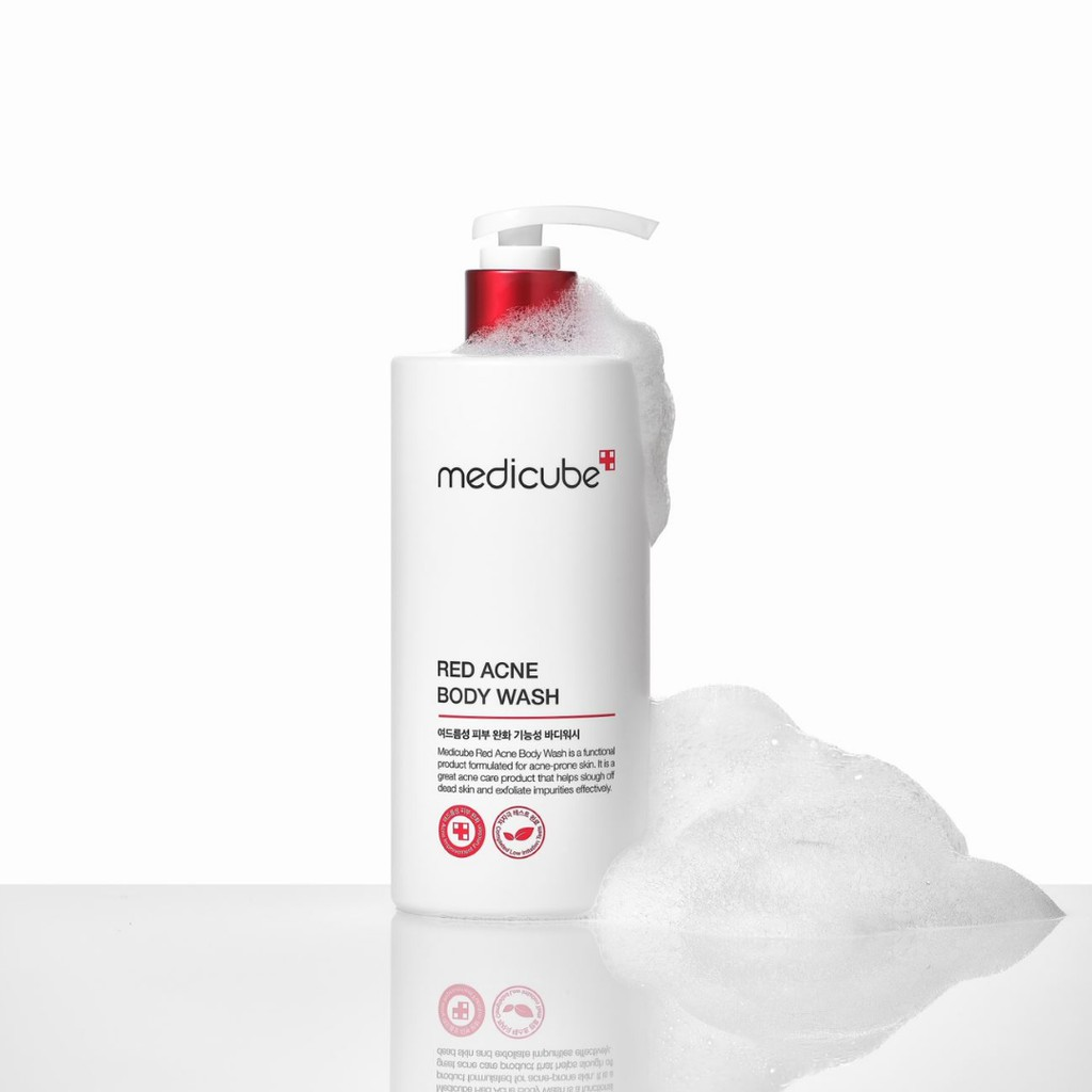 [Medicube Official] Red Acne Body Wash/Red Moisture Whitening Body Lotion Pouch