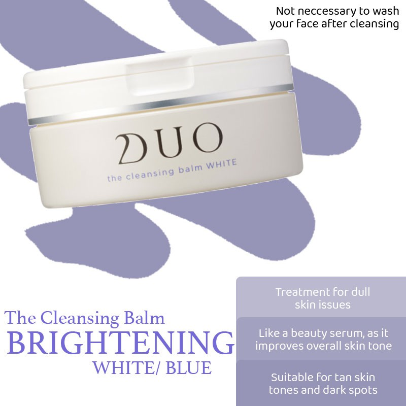 [SG Seller] DUO Cleansing Balm Pack
