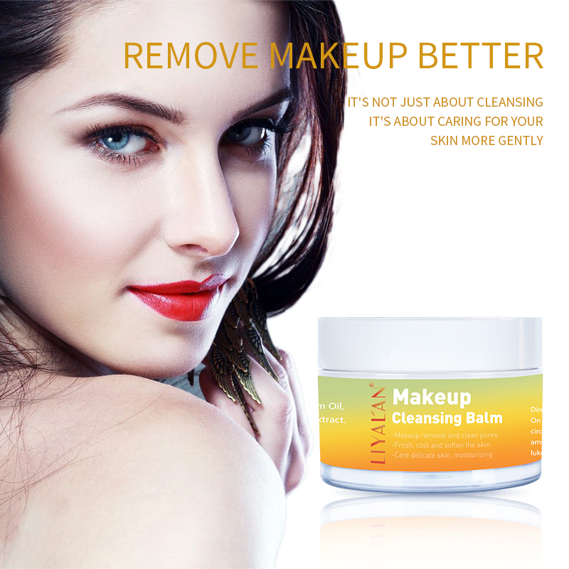 LIYAL'AN Deep Cleansing Makeup Remover Nourishing Face And Eye Cleansing Balm 50g