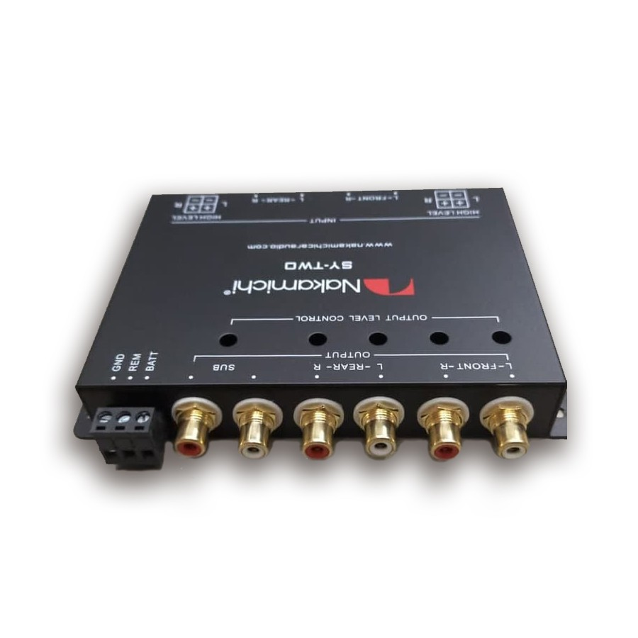 Nakamichi SY-TWO High to Low Pass Converter Pre-Amp Audio Mobil