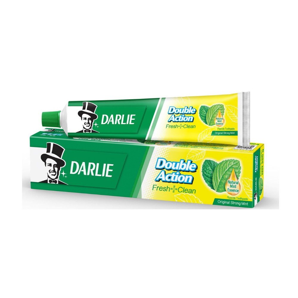 Darlie Double Action Fluoride Toothpaste Travel Size 75g