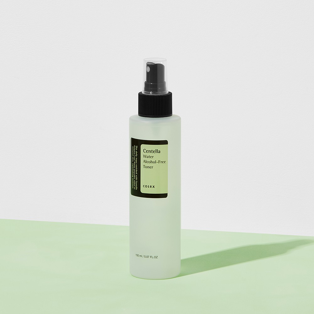 COSRX Centella Water Alcohol-Free Toner 150ml / Soothes Sensitive and Acne