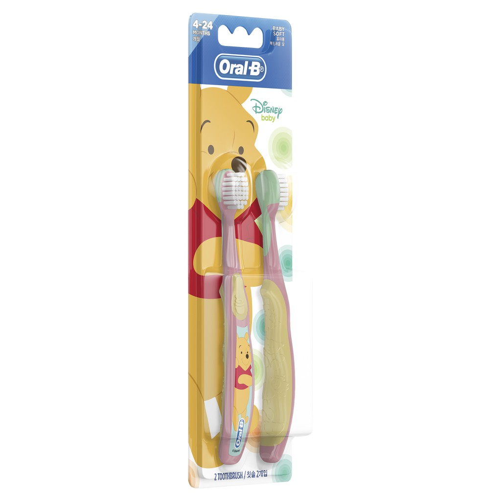 Oral-B Kids Disney Stages Toothbrush 2 Counts