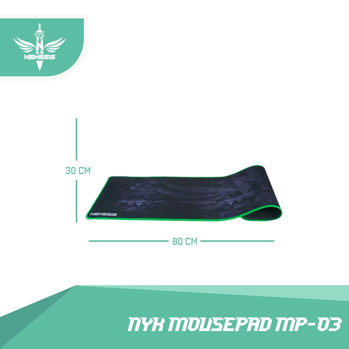 NYK Mousepad Gaming 80 X 30Cm Mp-No3 Extra Large