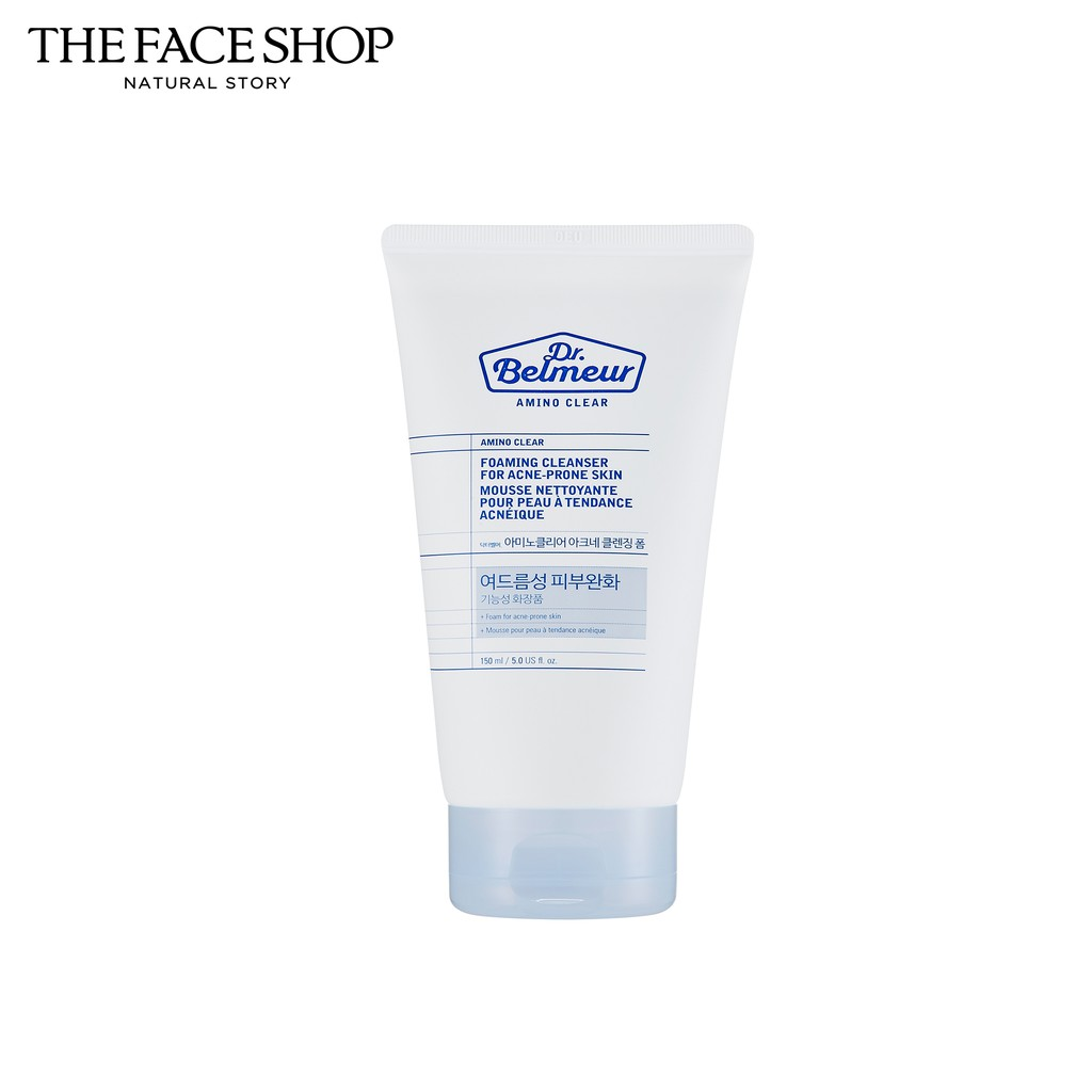 The Face Shop Dr.Belmeur Amino Clear Foaming Cleanser For Acne-Prone Skin