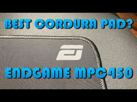 IS THIS THE BEST CORDURA PAD? - Endgame Gear MPC450