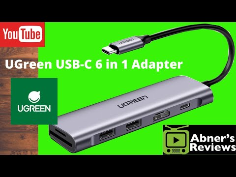 UGreen USB-C 6 in 1 Multi-function Adapter Unboxing and Review