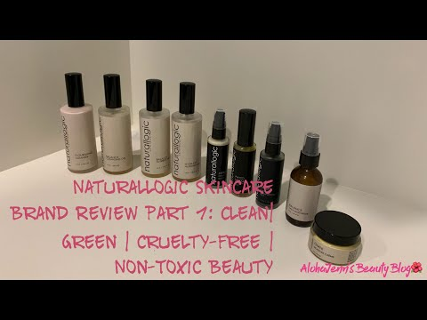 Naturallogic Skincare  Brand Review Part 1: Clean  Green  Cruelty Free  Non-Toxic  Vegan Beauty