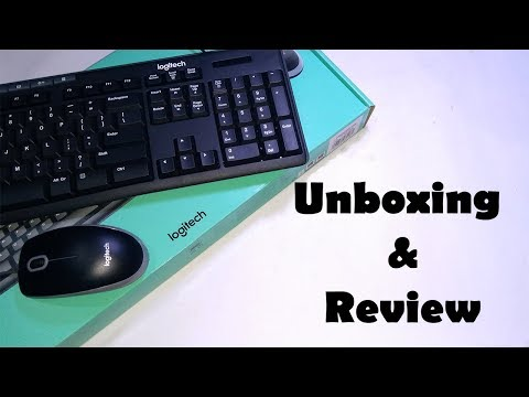 Logitech MK200 Media Wired Keyboard and Mouse Combo  | Unboxing and Review