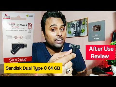 Sandisk 64 GB Pendrive Review after 6 Months Use | Ultra Dual Drive Go Type C Pendrive