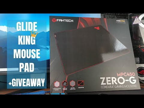SPEED AND POWER! - FANTECH ZERO-G MPC450 CORDURA Gaming Mouse Pad - Tagalog Review