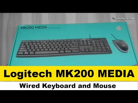 [Hindi - हिन्दी] Logitech MK200 Media Wired Keyboard and Mouse Combo Review