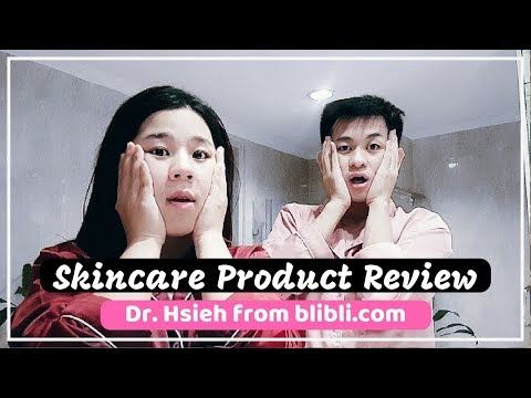 SKINCARE Product Review: Dr.Hsieh from Blibli.com