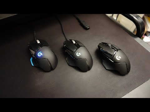Logitech G502 Lightspeed wireless review - Comparison with G502 and G502 HERO - By TotallydubbedHD