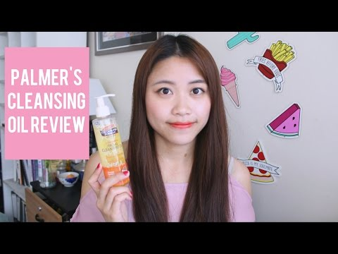 Palmer's Ultra Gentle Facial Cleansing Oil (REVIEW + DEMO!)