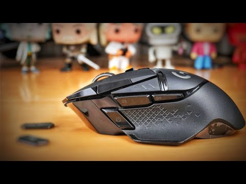 Logitech G502 Lightspeed unboxing and overview