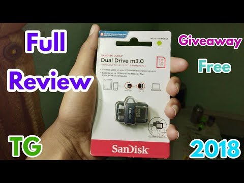 SanDisk Ultra Dual 16GB USB 3.0 OTG Pen Drive Full Review and Unboxing ! Technical Grandfather