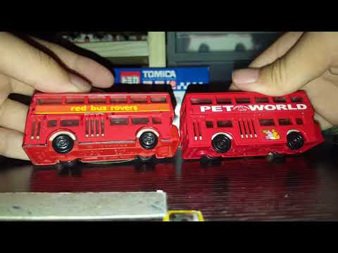 Tomica no.95(red bus rovers)介紹