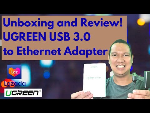 Unboxing and Review - UGREEN USB 3.0 to Ethernet Adapter