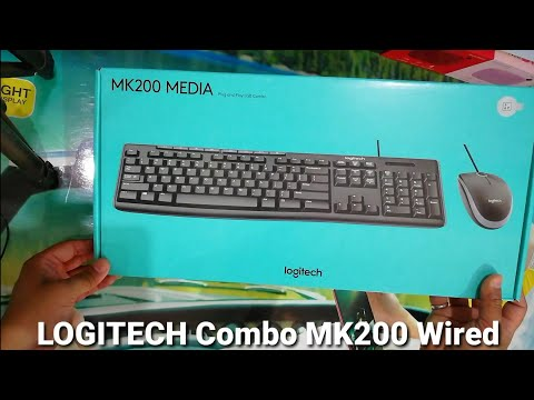 Logitech MK200 Multimedia Wired Combo । Unboxing & Review by Sarv Gyan Sampann