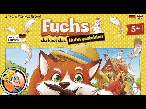 Outfox the Fox — game preview at SPIEL '17