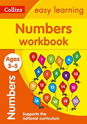 Numbers Workbook Ages 3-5 : Prepare for Preschool with Easy Home Learning